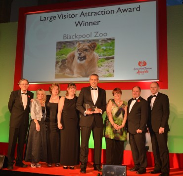 Blackpool Zoo_Large Visitor Attraction Winner_Simon Calder (L)& Ian Walton Lancashire County Council(R)
