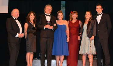 Brickhouse Farm Cottages_ Winner New Business - John Sergeant (L) & Michelle Riley Blackpool and the Fylde Collge (2nd from L)