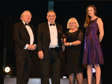 East Lancashire Railway_Winner Large Visitor Attraction - John Sergeant (L) & Helen Mihill Whitney Woods (R)
