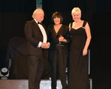 Sue Copp_Winner Tourism Superstar - John Sergeant (L) & Councillor Jennifer Mein Lead of Lancashire County Council  (R)