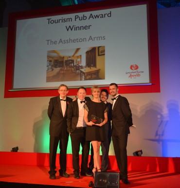 Assheton Arms_Winner Tourism Pub Simon Calder (L) & Malcolm Ireland Napthens Solicitors(R)