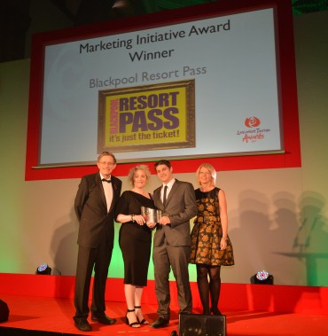 Blackpool Resort Pass_Winner Marketing Initiative Simon Calder(L) & Heidi Kettle Workhouse Marketing(R)