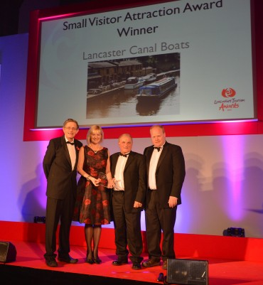 Lancaster Canal Boats_Winner Small Visitor Attraction Simon Calder (L)& Mike Davis Northern Print Distribution(R)