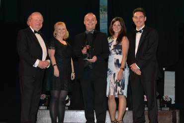 Lancaster House Hotel_Winner Large Hotel - John Sergeant (L) & Dr Adrian Ibbetson University of Central Lancashire (R)