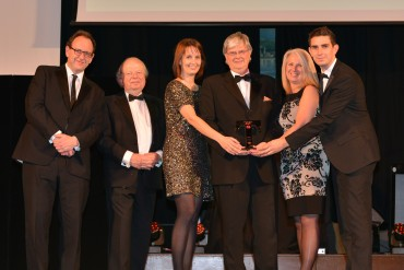 Northcote_Winner Luxury Award - John Sergeant (2nd from L) & Richard Slater Lancashire Business View (L)