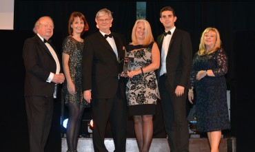 Northcote_Winner Small Hotel - John Sergeant (L) & Jane Shaw University of Central Lancashire (R)