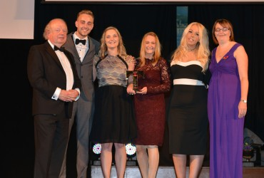 Premier Inn Preston South Hotel_Winner Customer Service - John Sergeant (L) & Kay  Vaughan The Via Partnership