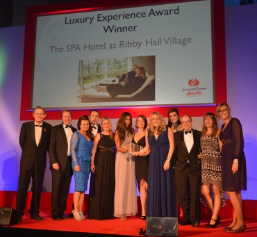 Spa Hotel Ribby Hall_ Winner Luxury Experience_Simon Calder (L)& Stephen Chalcraft Pannone(R)