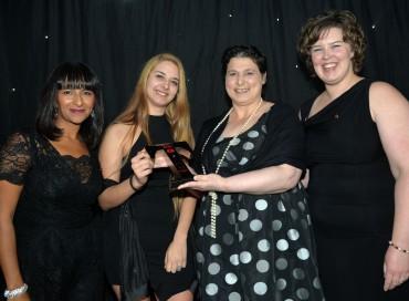 The Lancashire Tourism Awards 2015 at the Empress Ballroom, Blackpool Winter Gardens.Taste Lancashire Award.