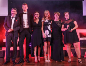 LTA17 Dog Friendly Award winner Spread Eagle Inn with Tony Livesey GP & Joanne Hindley Creative Council & Peter Scott Printers