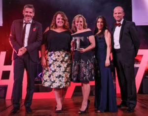 LTA17 Retail Experience Award Winner Whalley Warm & Dry with Tony Livesey & Joel Arber Marketing Lancashire