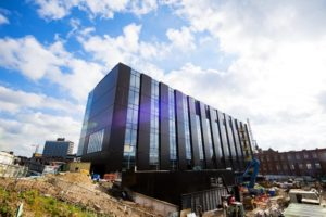 Building in progress - Engineering Innovation Centre