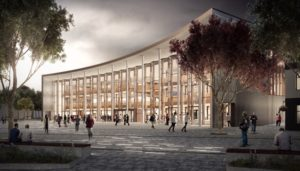 Student Centre and Square CGI