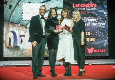 2019 Lancashire Tourism Awards at Blackpool Pleasure Beach Arena.
